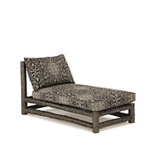 Rustic Chaise/Armless #1256