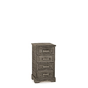 Rustic Four Drawer Chest #2102