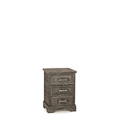 Rustic Three Drawer Chest #2103