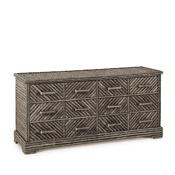Rustic Six Drawer Dresser #2134