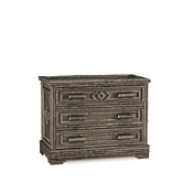 Rustic Three Drawer Chest #2136