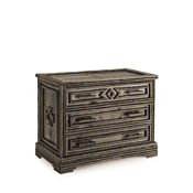 Rustic Three Drawer Chest #2137