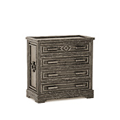 Rustic Four Drawer Chest #2138