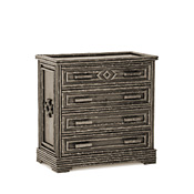 Rustic Four Drawer Chest #2139