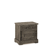 Rustic Nightstand #2154L (Hinged on Left Side)