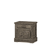 Rustic Nightstand #2155L (Hinged on Left Side)