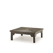Rustic Coffee Table with Willow Top #3322