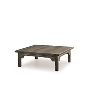 Rustic Coffee Table with Pine Top #3324