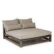Rustic Double Chaise #1598