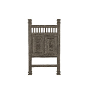 Rustic Headboard Twin #4212