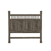 Rustic Headboard King #4218