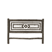 Rustic Headboard King #4576