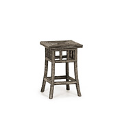 Rustic Table with Willow Top #3379