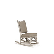Rustic Rocking Chair with Tie-On Back Pad #1197