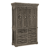 Rustic TV Cabinet #2616