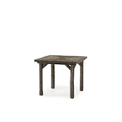 Rustic Table with Willow Top #3030