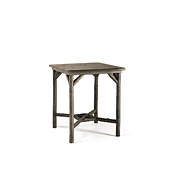Rustic Bar Table with Pine Top #3035