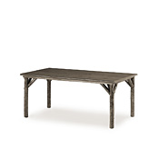 Rustic Dining Table with Pine Top #3036