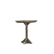 Rustic Bar Table with Pine Top #3049