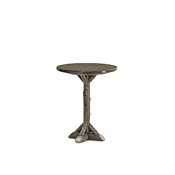 Rustic Bar Table with Pine Top #3051