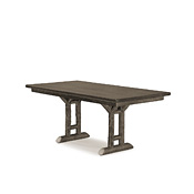 Rustic Dining Table with Pine Top #3052