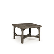 Rustic Dining Table with Willow Top #3054