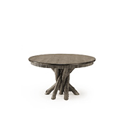 Rustic Dining Table with Pine Top #3089