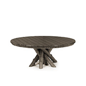 Rustic Dining Table with Pine Top #3093