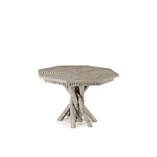 Rustic Table with Willow Top #3102