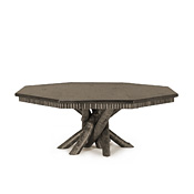 Rustic Dining Table with Pine Top #3112