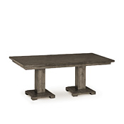 Rustic Dining Table with Pine Top & Pine Base #3142