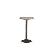 Bar Table with Pine Top & Metal Base (No Footring) #3179