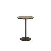 Bar Table with Pine Top & Metal Base (No Footring) #3181