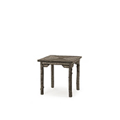 Rustic Dining Table with Willow Top #3190