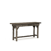Console Table with Pine Top #3193