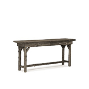 Rustic Console Table with Pine Top #3194