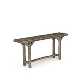 Rustic Console Table with Willow Top #3195