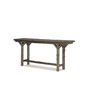 Rustic Console Table with Pine Top #3196