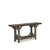 Console Table with Willow Top #3208