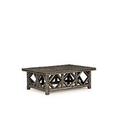 Rustic Coffee Table with Willow Top #3231