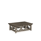 Rustic Coffee Table with Pine Top #3233