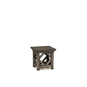 Rustic End Table with Pine Top #3238