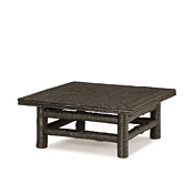 Rustic Coffee Table with Willow Top #3244