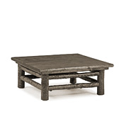 Rustic Coffee Table with Pine Top #3246
