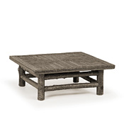 Rustic Coffee Table with Willow Top #3250