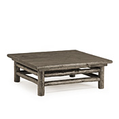 Rustic Coffee Table with Pine Top #3252
