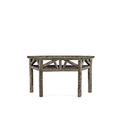 Rustic Console Table with Willow Top #3262
