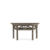 Console Table with Trapezoidal Pine Top #3264