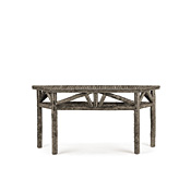 Rustic Console Table with Willow Top #3266