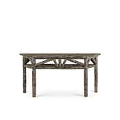 Console Table with Trapezoidal Pine Top #3268